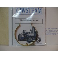 Brass boiler bands