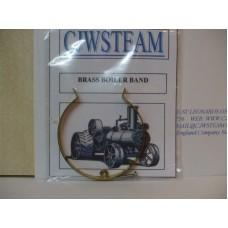 Pair of Brass boiler bands